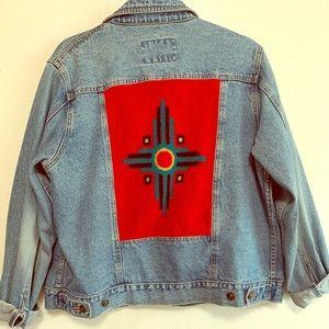 Vintage western denim jacket